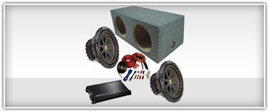 Dual 15 Inch Car Audio Package