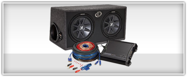 Dual 10 Inch Car Audio Package