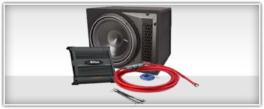 Single 12 Inch Car Audio Package