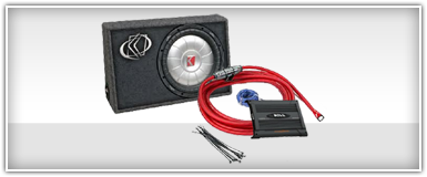 Single 15 Inch Car Audio Package