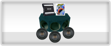 Triple or More Car Audio Package