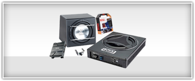 Amplified Car Audio Subwoofers