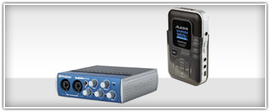 Pro Audio Recording Equipment