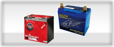 Car Audio Batteries