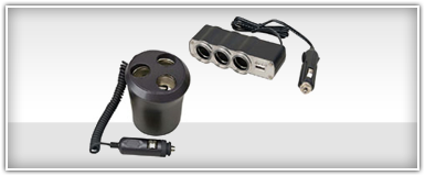Car Audio Adapters & Power Inverters