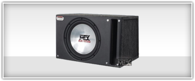 Single 15 Inch Loaded Enclosure