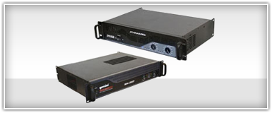 Pro Audio Amplifiers