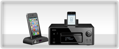 Pro Audio iPod Docks Receivers & Accessories